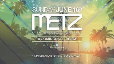 METZ on the beach